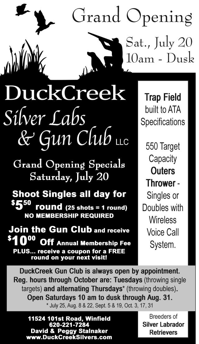 DuckCreek Grand Opening