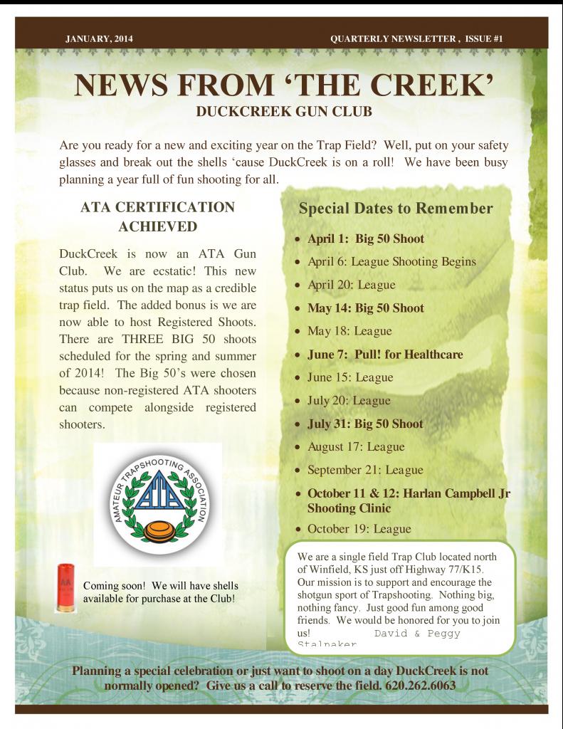 1st Quarter Newsletter 2014 a-0